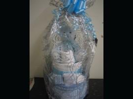 Blue Nappy Cake