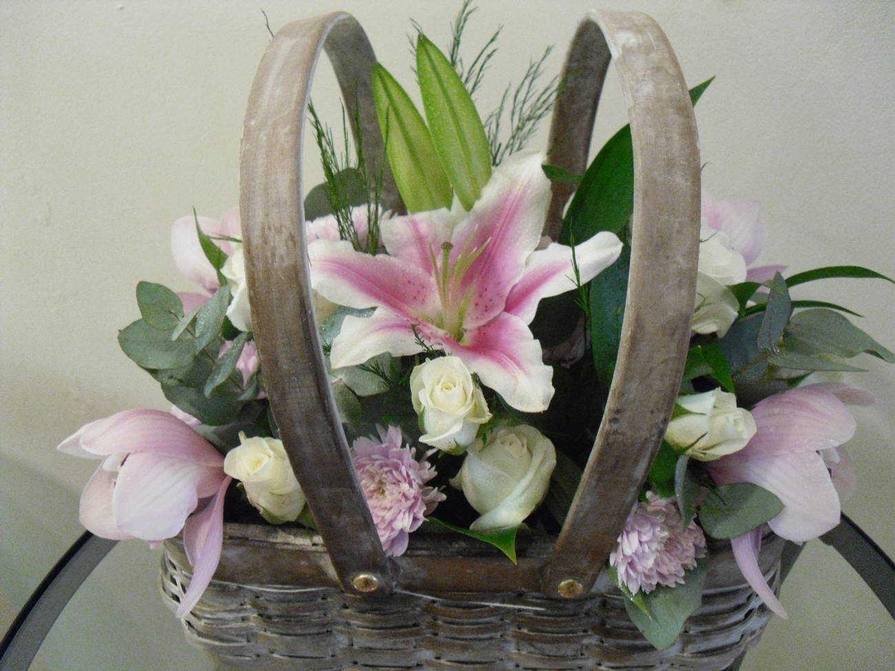 floral arrangement cottonbuds florists Northampton